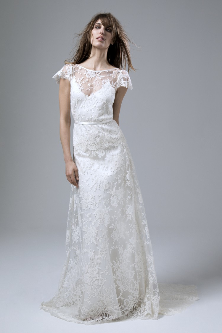 Kate halfpenny iris rose second hand wedding dress on sale for Second hand wedding dresses for sale