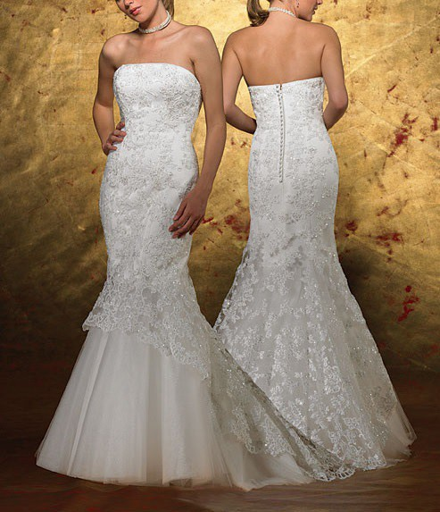 Forever yours bridal gown 3909 second hand wedding for Forever yours wedding dress