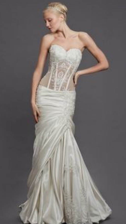 Super Pnina Tornai Wedding Dress on Sale 77% Off ZO49