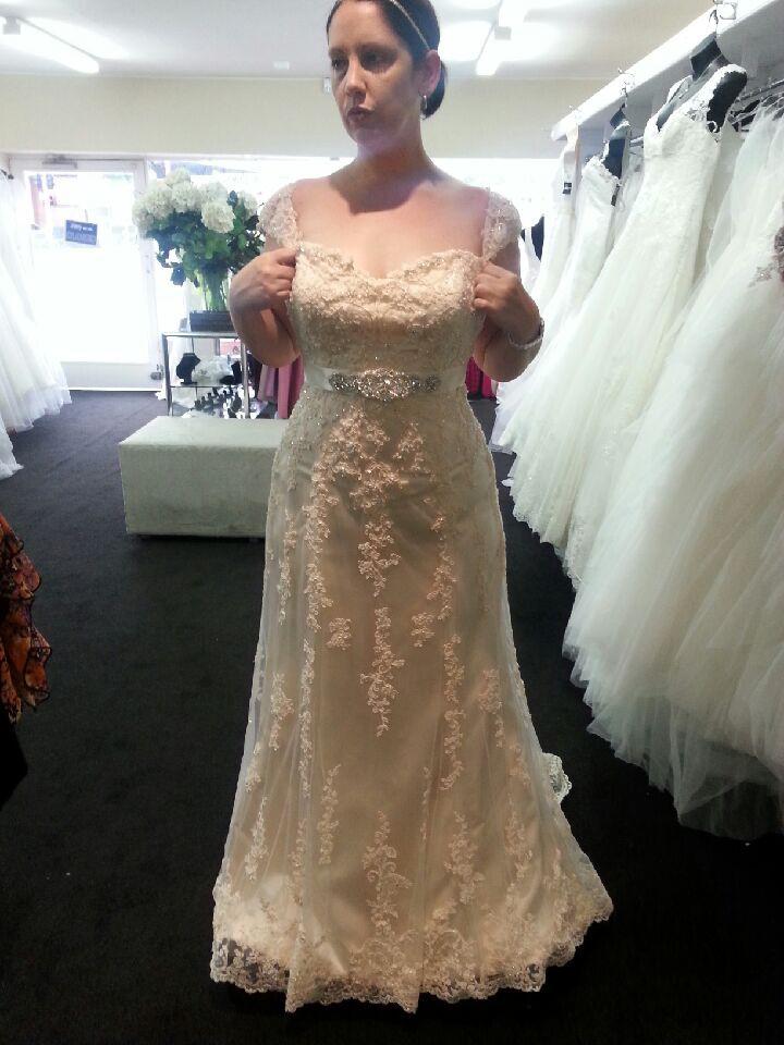 Maggie sottero emma second hand wedding dress on sale 38 off for Second hand wedding dresses for sale