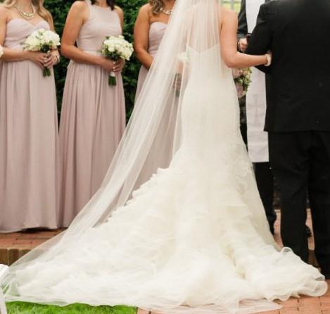 Vera Wang Leda Wedding Dress on Sale f