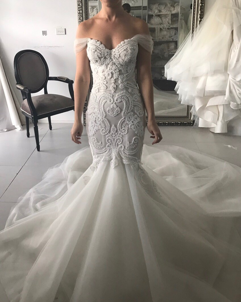 Second Hand Wedding Dresses: Norma Bridal Couture Custom Made Second Hand Wedding Dress