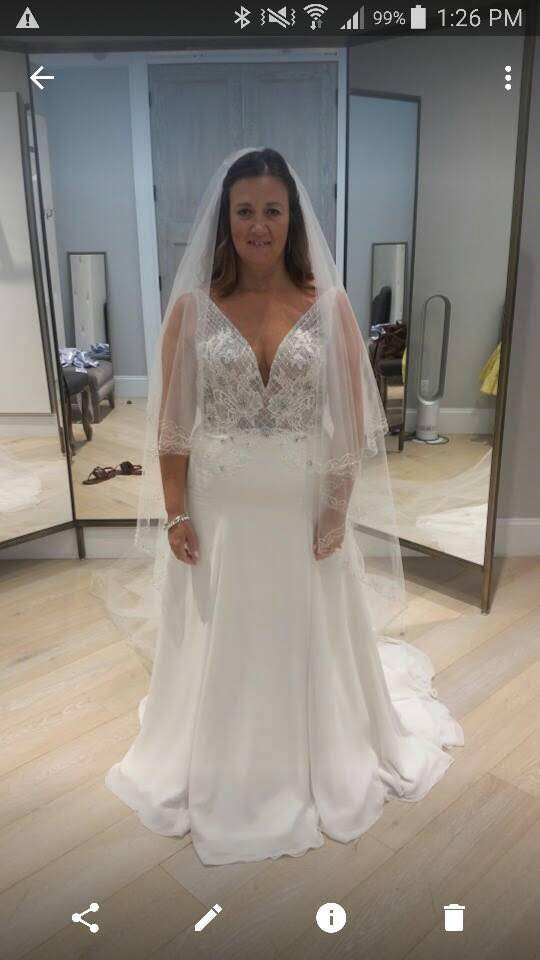 Marisa New Wedding Dress on Sale 44% Off