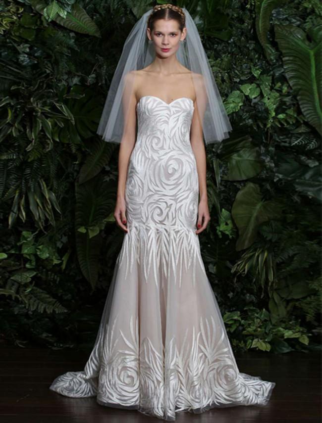 Naeem Khan Florence New Wedding Dress On Sale 79 Off Stillwhite