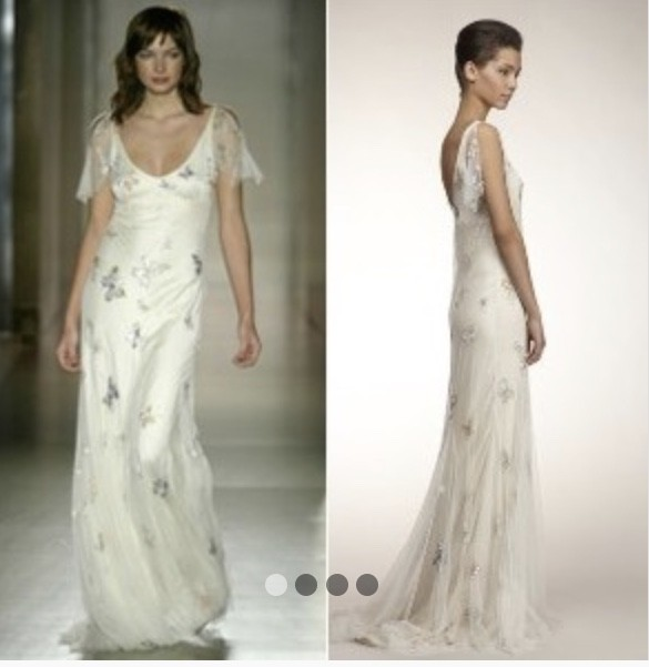 Jenny packham madame butterfly pre owned wedding dress on sale 52 off junglespirit Image collections