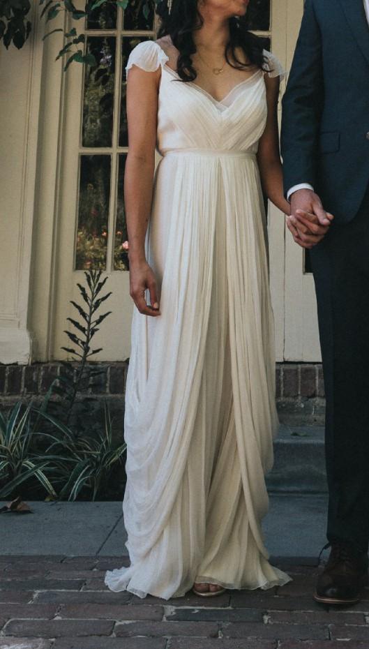 Saja, HB6365 Grecian Wedding Dress