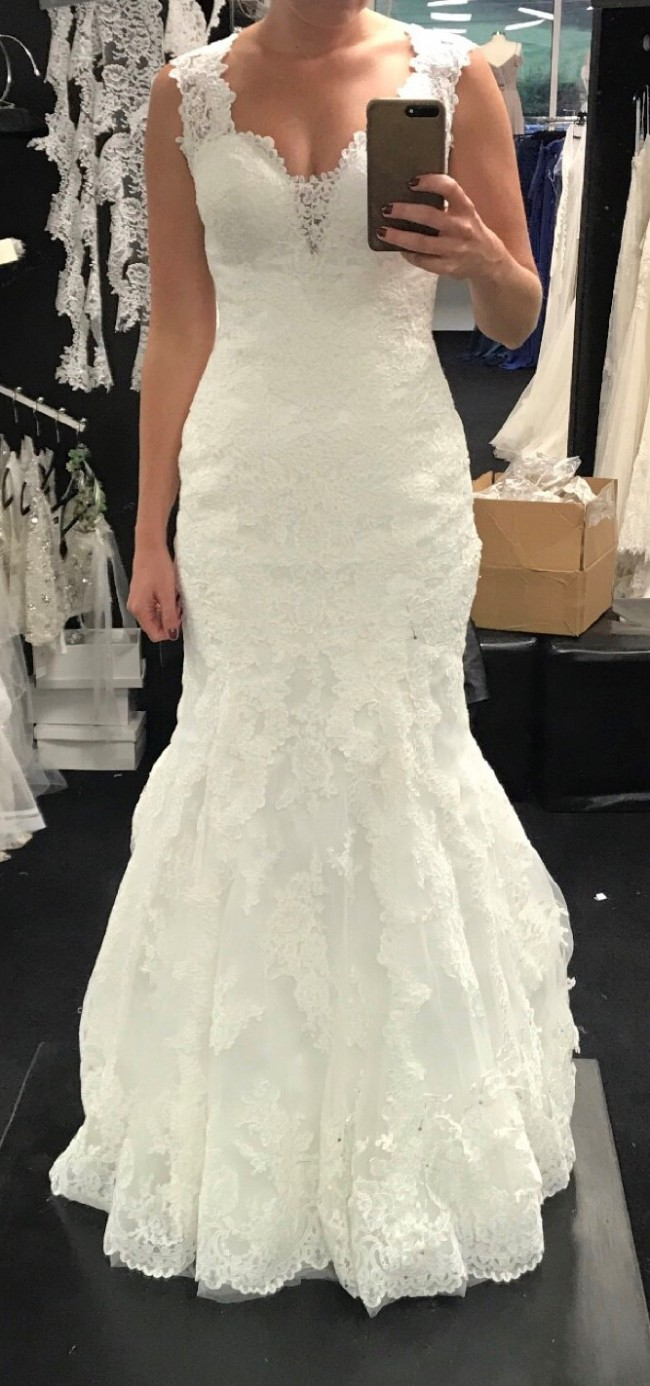 Stella york 6418 new wedding dress on sale for Stella york wedding dresses near me