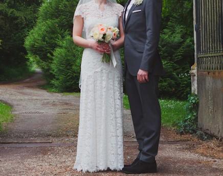 Temperley London Amoret Preowned Wedding Dress On Sale 36
