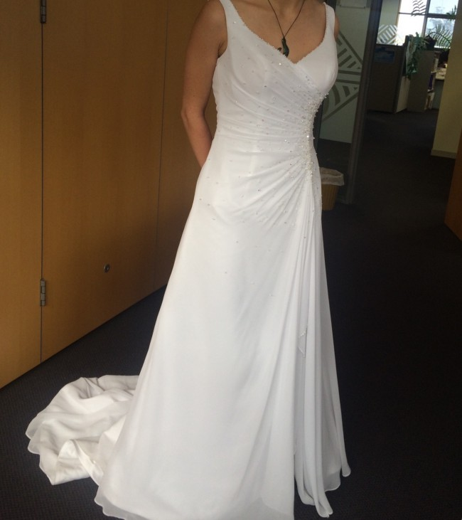 Second Hand Wedding Dresses: Ninety 3 Bridal 5002T Second Hand Wedding Dress On Sale