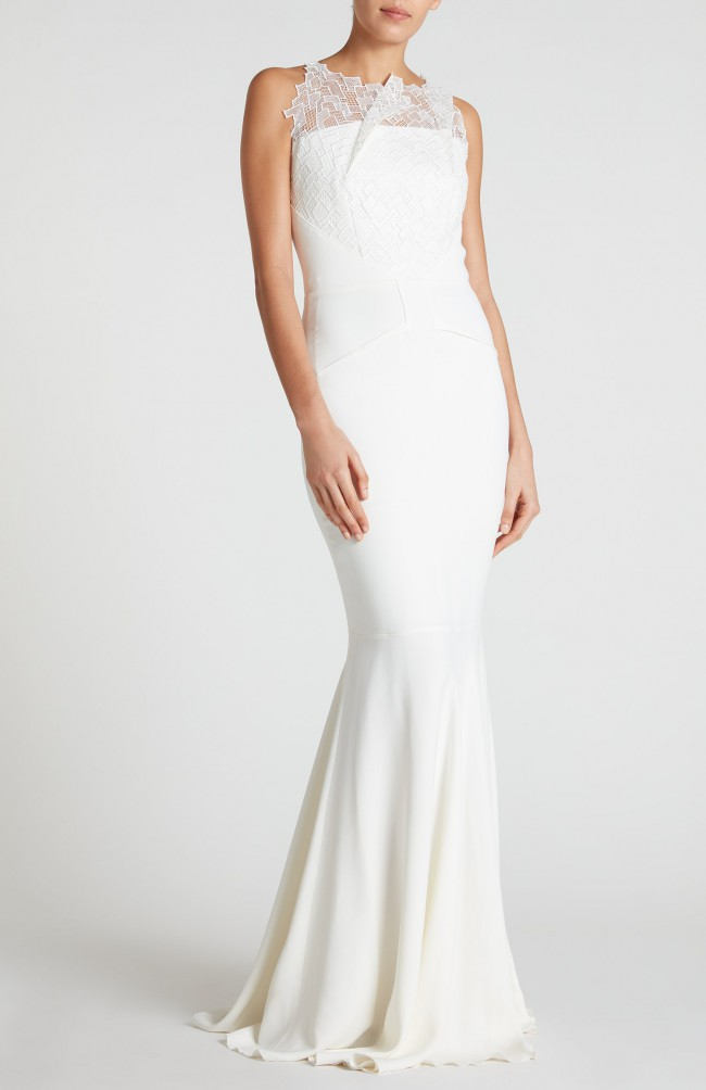Roland Mouret Mirah Gown Used Wedding Dress On Sale 64