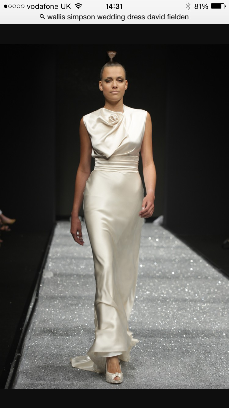 David Fielden Wallace simpson Second-Hand Wedding Dress on Sale 61% Off
