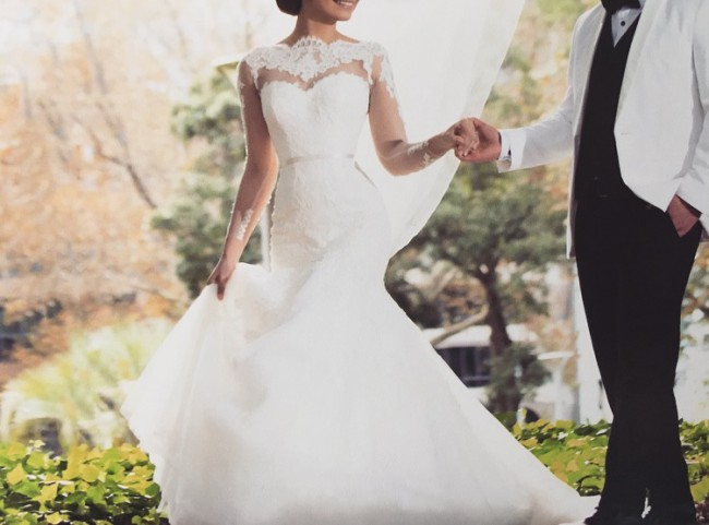 Steven khalil preowned wedding dress on sale 49 off for Steven khalil wedding dresses cost