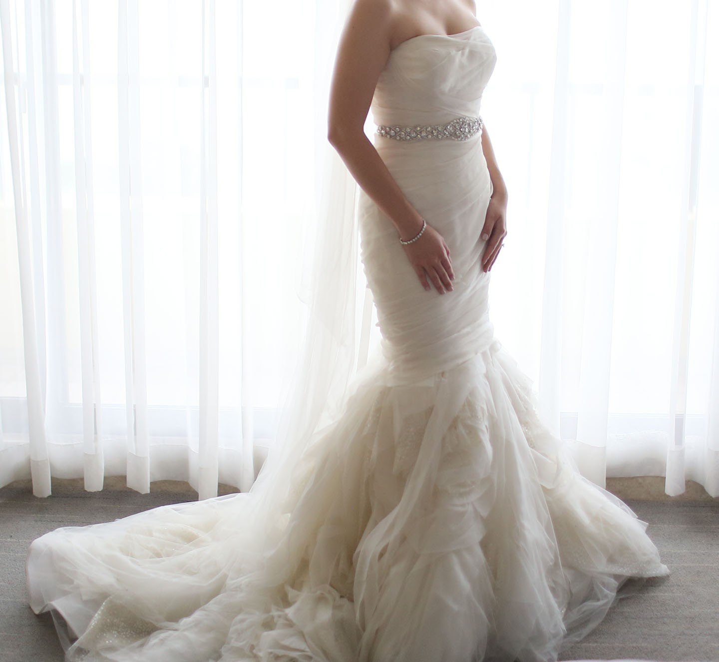 Vera wang gemma second hand wedding dress on sale 52 off for Second hand wedding dresses for sale