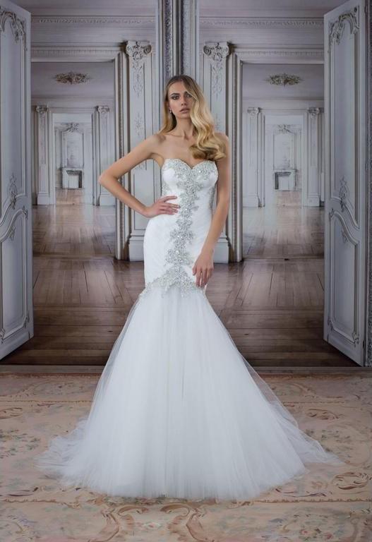 Pani Na Tornia Wedding Dress Spaghetti Strap Low-Back