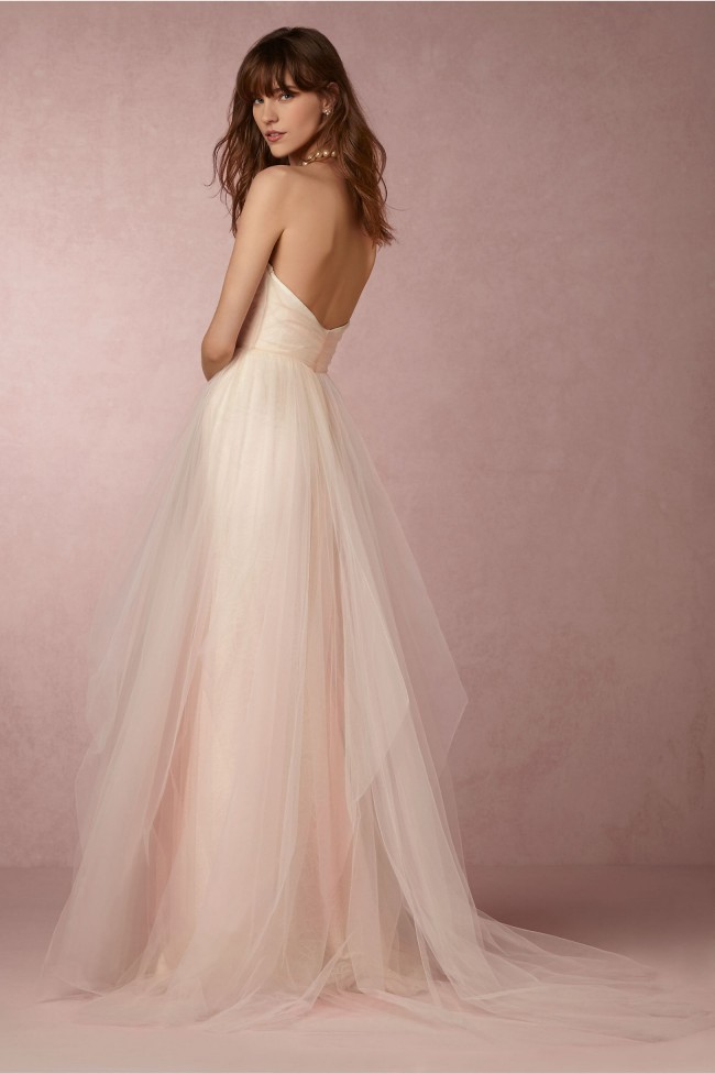 Hayley Paige Candi New Wedding Dress On Sale 61 Off Stillwhite