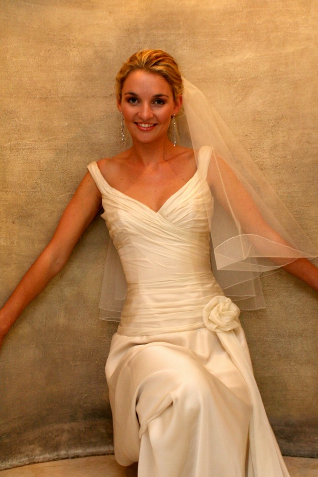 Paul Van Zyl Custom Made Used Wedding Dress On Sale
