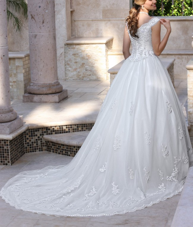 Second Hand Wedding Dresses: Da Vinci 8009 Second Hand Wedding Dress On Sale 29% Off