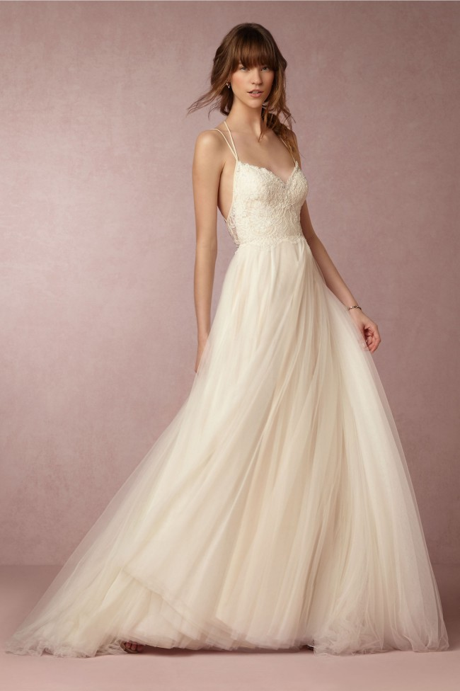 BHLDN Rosalind from Willowby by Watters New Wedding Dress on Sale ...