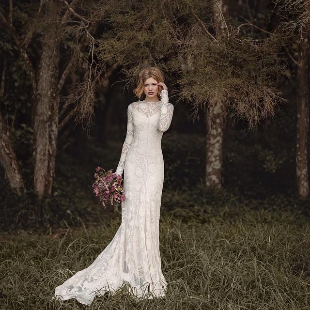 Rue de seine chloe gown new wedding dress on sale 26 off for Rue de seine wedding dress cost