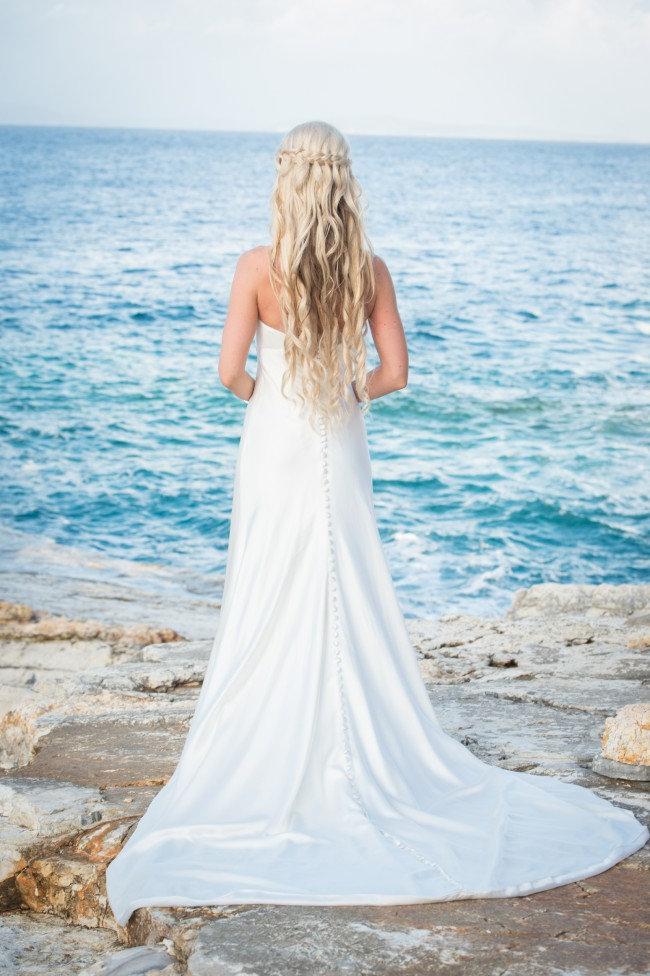 Emma Victoria Payne Pinella Pre-Owned Wedding Dress on Sale 72% Off