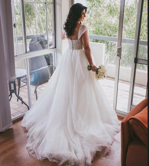 Maggie Sottero Esme Second Hand Wedding Dress On Sale 67