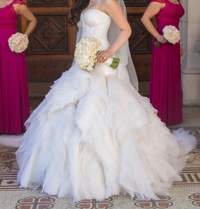 Helen manuell pre owned wedding dress on sale 40 off for Helen miller wedding dresses