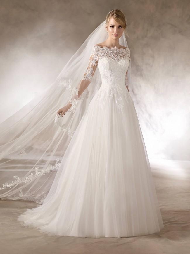 La Sposa Haloke New Wedding Dress on Sale 64% Off - Stillwhite