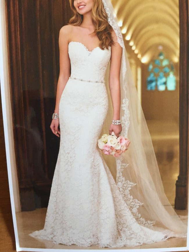 Stella york pre owned wedding dress on sale 50 off for How much do stella york wedding dresses cost