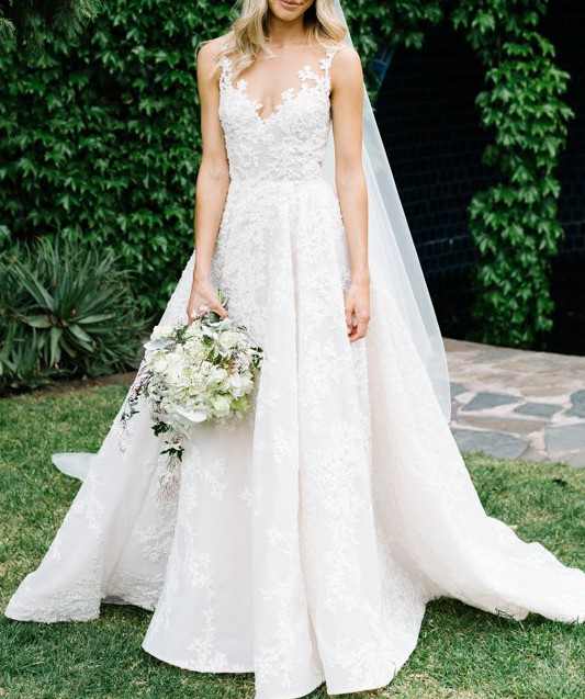 Paolo Sebastian Custom Made PreOwned Wedding Dress on Sale ...