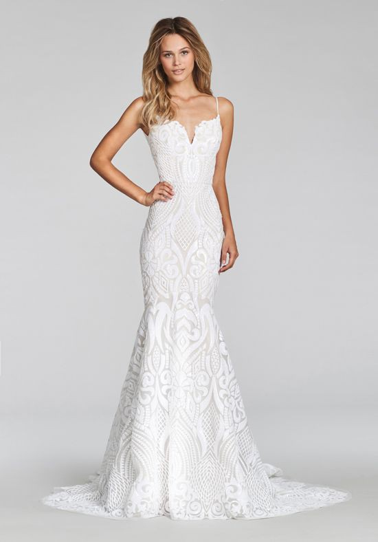 Hayley Paige West Gown Second Hand Wedding Dress on Sale 33% Off ...