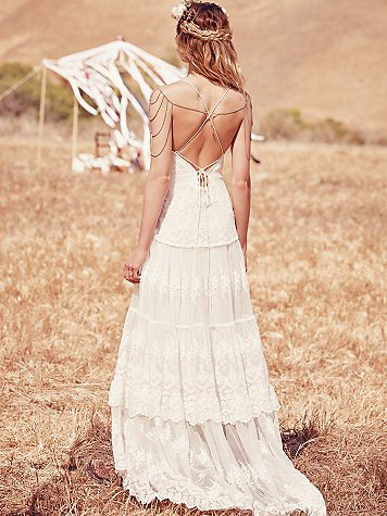 Spell Designs, Canyon Moon Mesh Gown