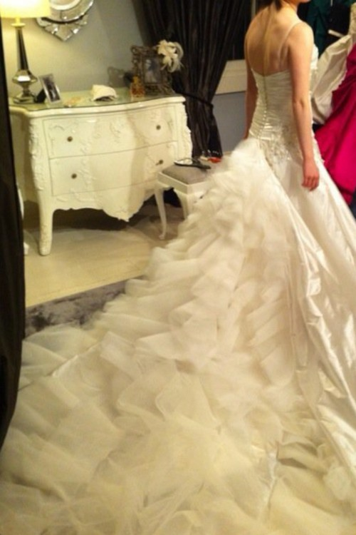 Steven khalil second hand wedding dress on sale for Second hand wedding dresses san diego