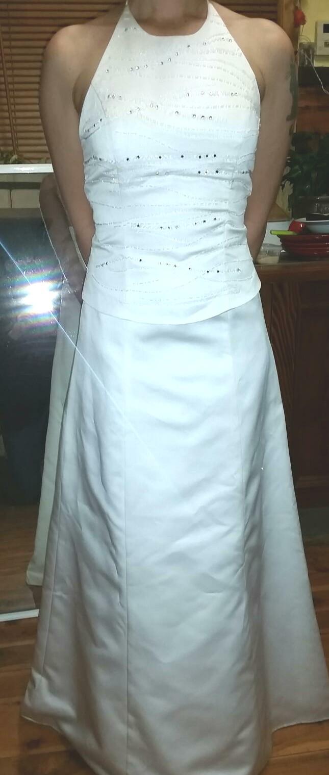 Alfred Angelo Preloved Wedding Dress on Sale 92% Off