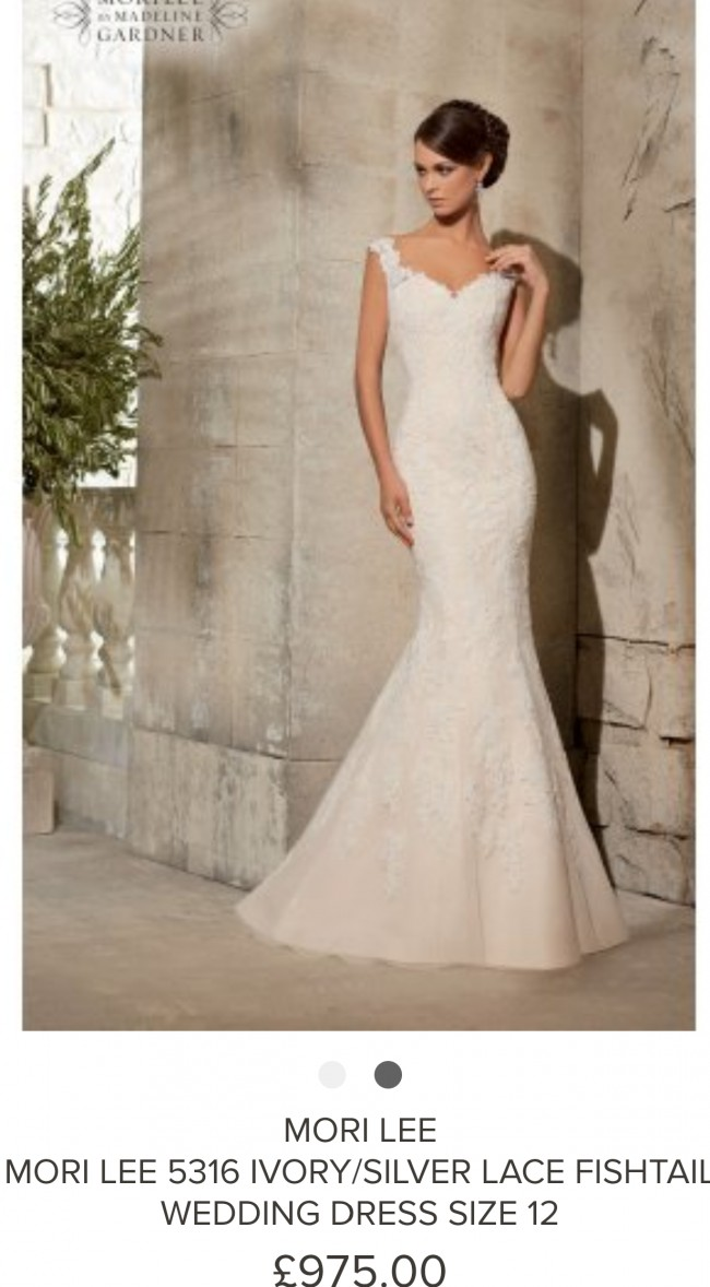 Mori Lee Wedding Dress On Sale 100 Off