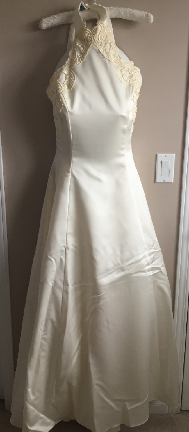 Jessica mcclintock second hand wedding dress on sale 71 off for Jessica mcclintock wedding dresses outlet