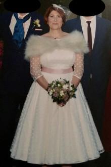 Candy Anthony Wedding Dresses On Still White
