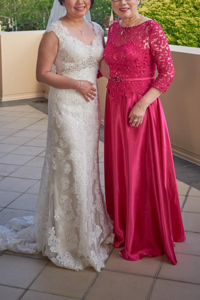 Bridal chic savannah 1412 used wedding dress on sale 75 off for Wedding dress savannah ga