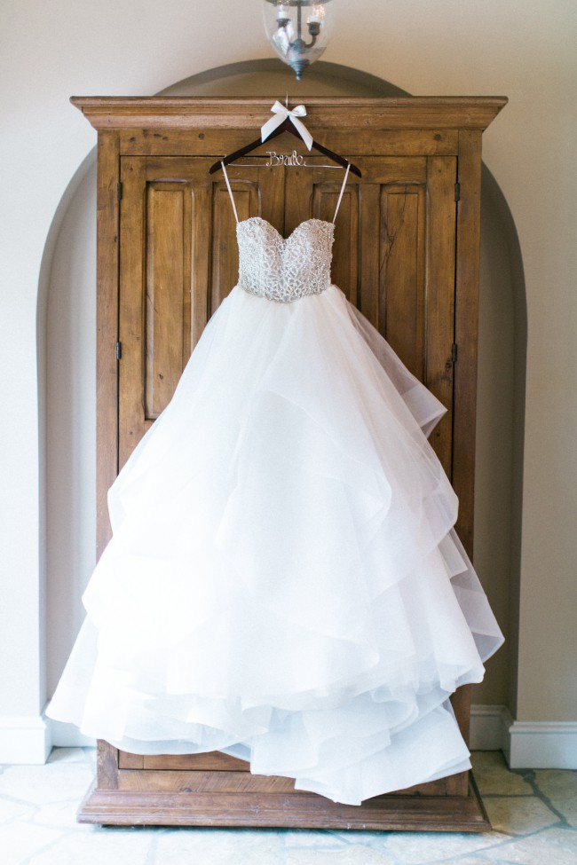 Hayley paige custom made used wedding dress on sale 41 off for Professional wedding dress cleaning