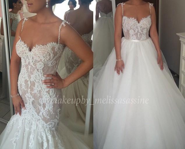 c4a93a0394a Steven Khalil Custom Made Used Wedding Dress on Sale 42% Off - Stillwhite  Canada
