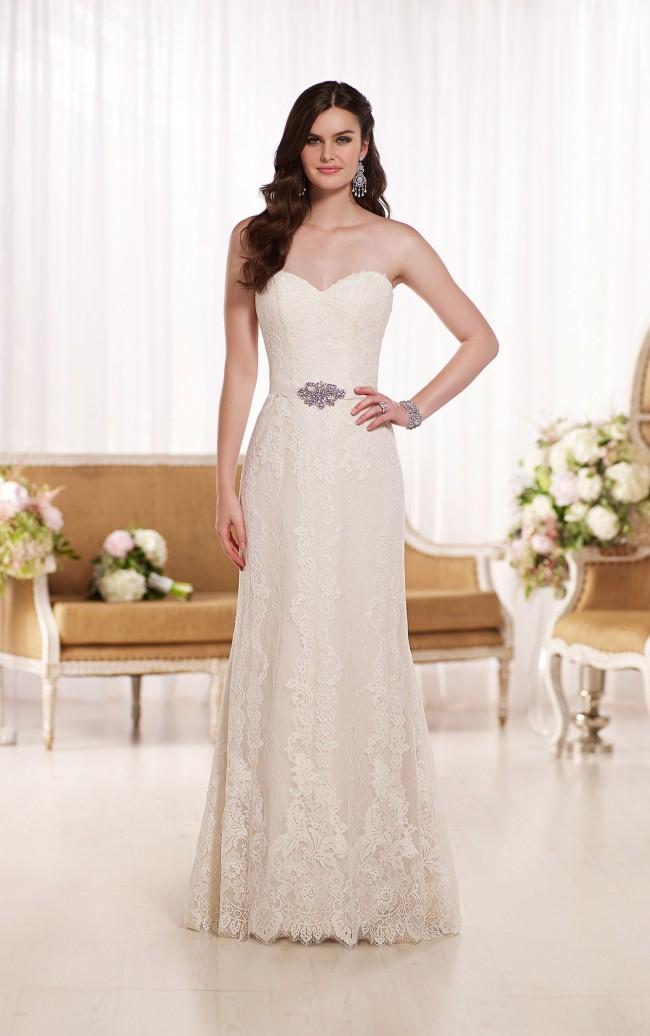 Essense of australia d1809 sample wedding dresses for Wedding dress shops in indianapolis