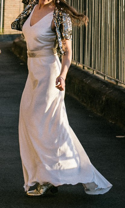 Ellery, Rare silk wedding gown
