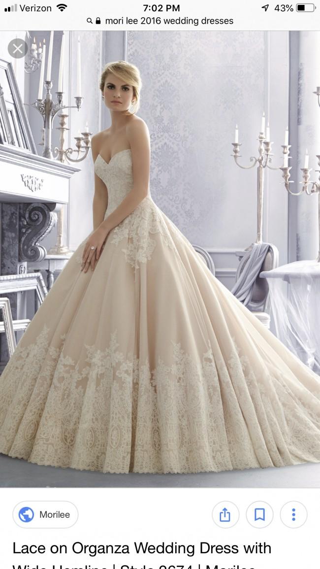 Morilee Second Hand Wedding Dress on Sale 54% Off - Stillwhite