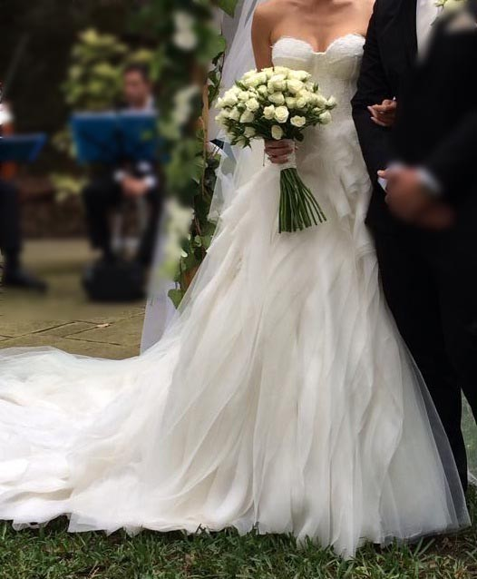 Ball Gown Second Hand Wedding Dress on Sale 59% Off - Stillwhite ...