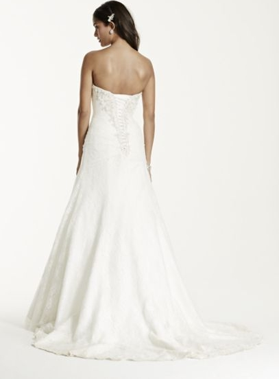 David's Bridal exceeded my expectations. The girl that helped me,I believe her name was Audra,took t he time to get to know me & my taste. She did so well,that she had me in MY dress by the 4th try on/5().