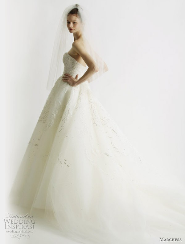 Marchesa second hand wedding dress on sale 73 off for Marchesa wedding dress sale