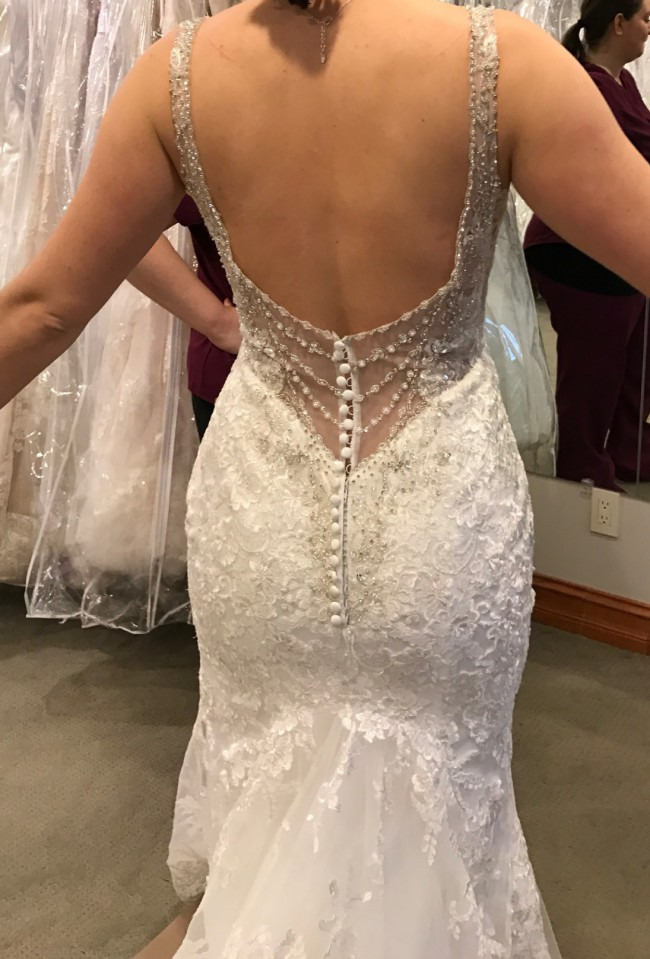 Allure Bridals 9401 New Wedding Dress on Sale 40% Off