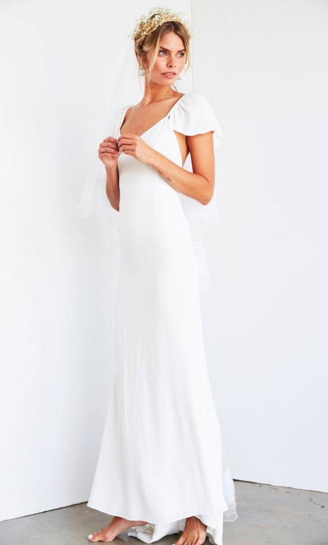 Stone Cold Fox Tulip Gown New Wedding Dress on Sale 32% Off - Stillwhite