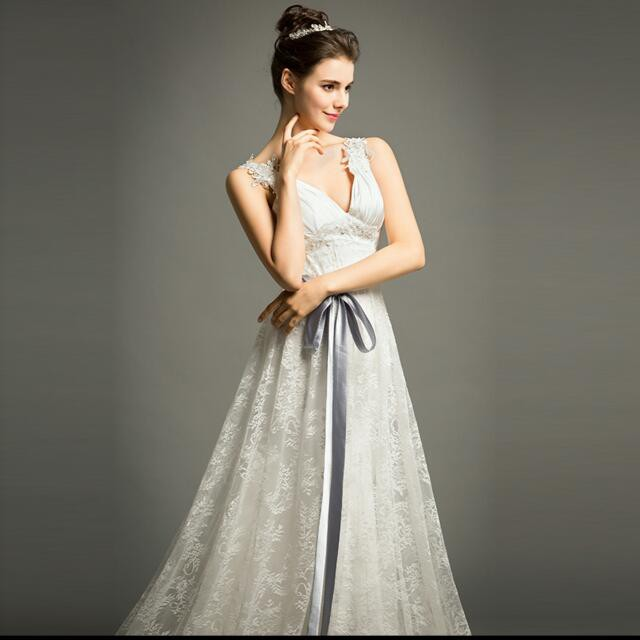 A line second hand wedding dress on sale for Second hand wedding dresses san diego