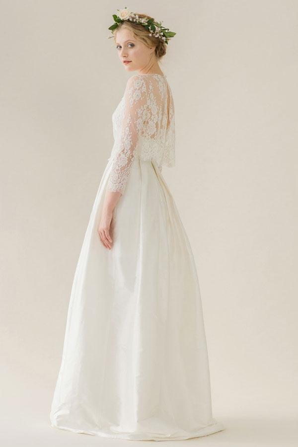 Rue de seine sophia gown grace blouse second hand for Rue de seine wedding dress cost