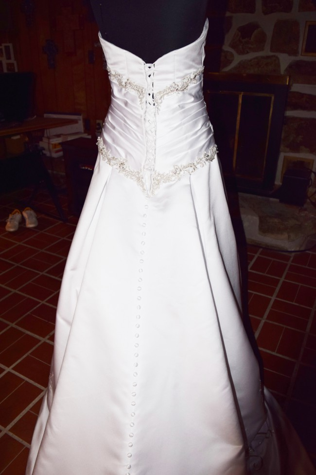 Alfred Angelo Style 223 Sale Final Clearance Price Wedding Dress On Sale 82 Off
